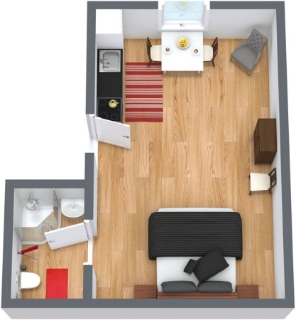 Planimetría Apartamento N.36