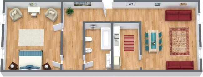 Planimetría Apartamento N.361