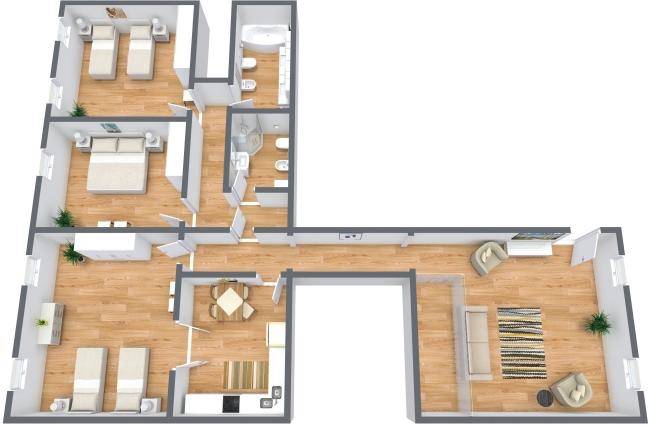 Planimetría Apartamento N.363