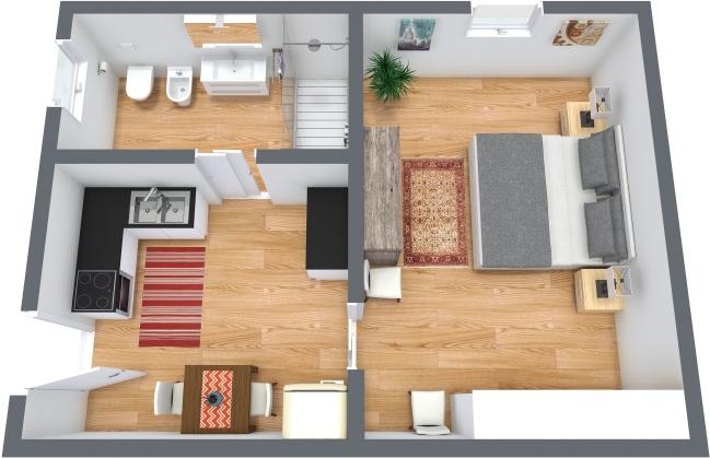 Planimetría Apartamento N.369