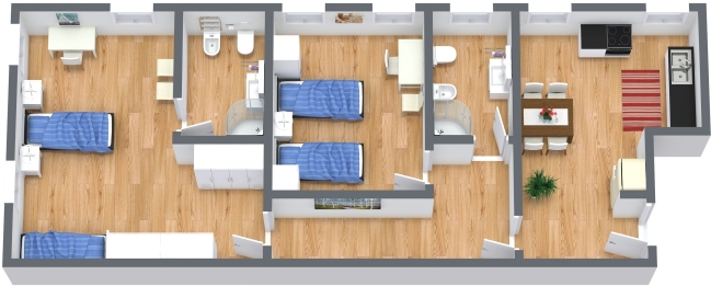 Planimetría Apartamento N.382