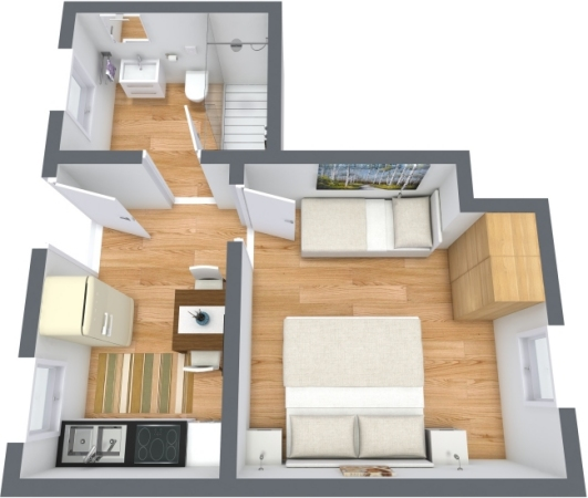 Planimetría Apartamento N.391