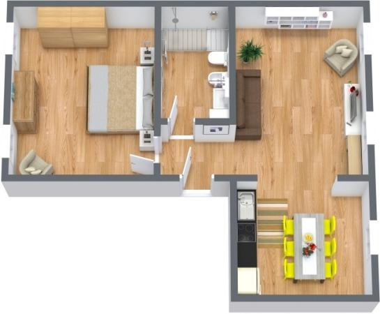 Planimetría Apartamento N.397