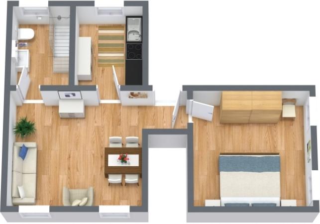 Planimetría Apartamento N.396