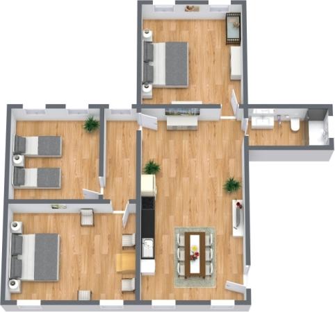Planimetría Apartamento N.399