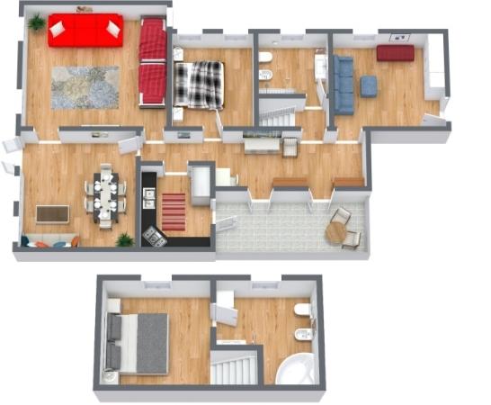 Planimetría Apartamento N.409