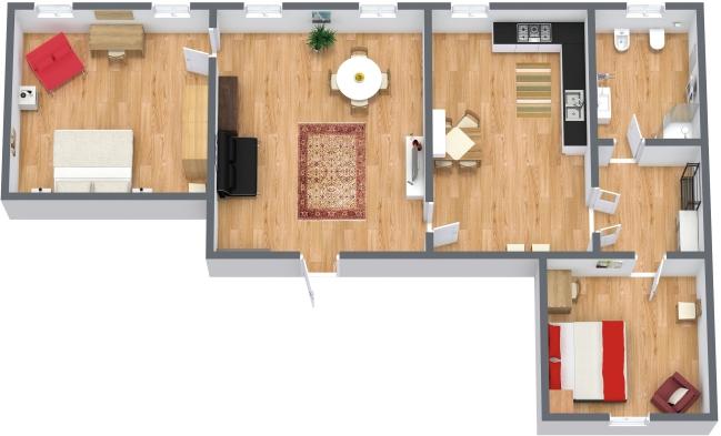 Planimetría Apartamento N.41