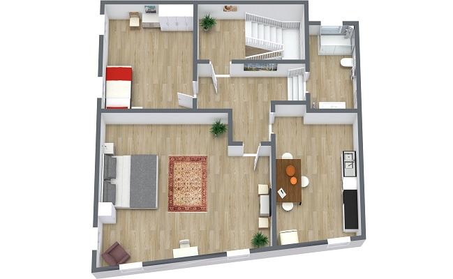 Planimetría Apartamento N.410
