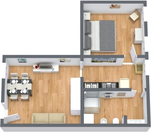 Planimetría Apartamento N.413