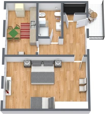 Planimetría Apartamento N.425