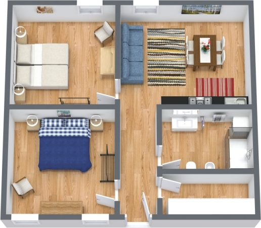 Planimetría Apartamento N.426