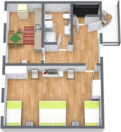Planimetría Apartamento N.428