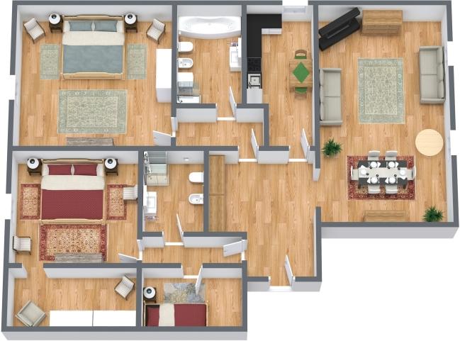 Planimetría Apartamento N.429