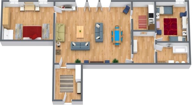 Planimetría Apartamento N.43