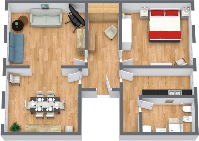 Planimetría Apartamento N.432