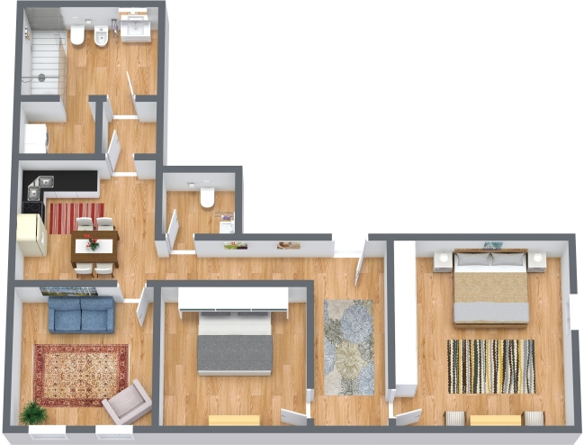 Planimetría Apartamento N.434