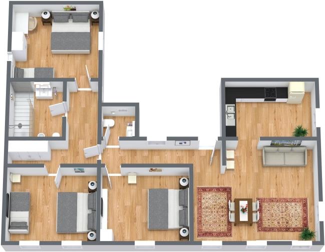 Planimetría Apartamento N.435