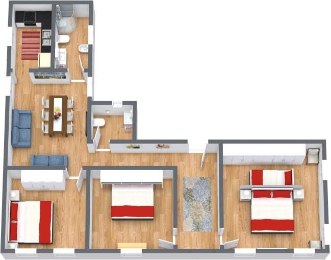 Planimetría Apartamento N.436