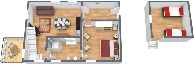 Planimetría Apartamento N.437