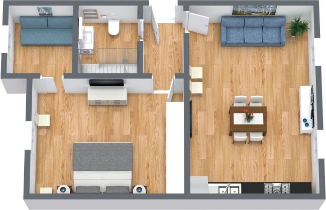 Planimetría Apartamento N.439
