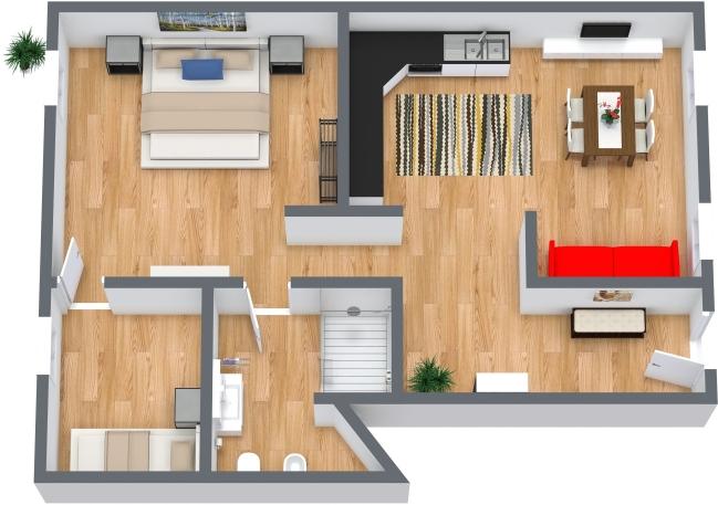 Planimetría Apartamento N.442