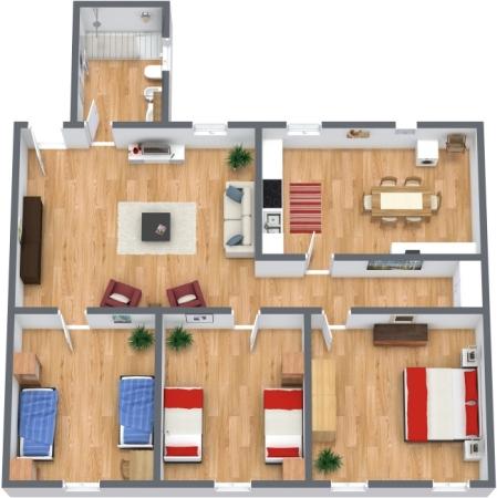 Planimetría Apartamento N.45