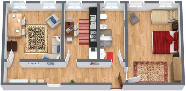 Planimetría Apartamento N.47