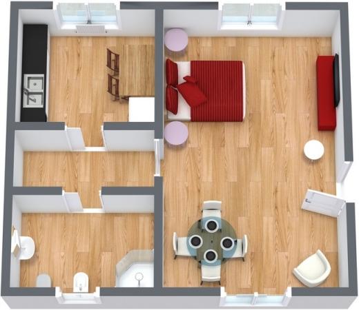 Planimetría Apartamento N.85