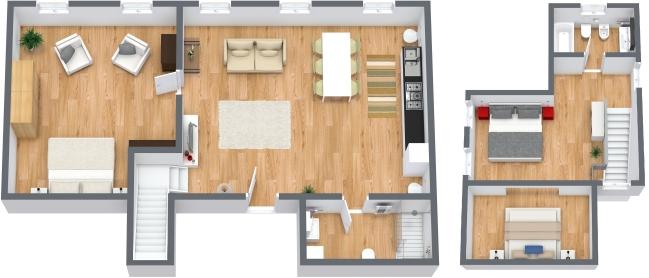 Planimetría Apartamento N.49