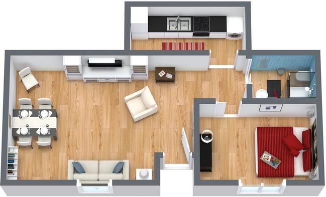 Planimetría Apartamento N.50