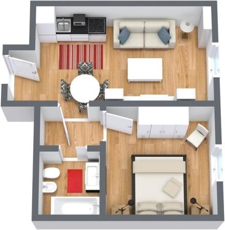 Planimetría Apartamento N.61