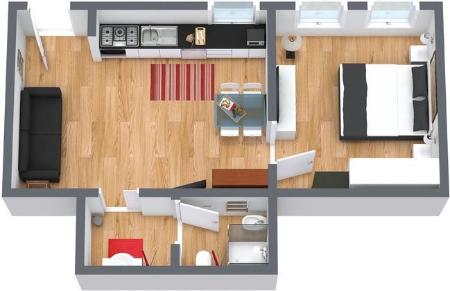 Planimetría Apartamento N.66