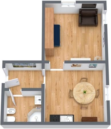 Planimetría Apartamento N.69