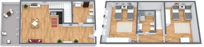 Planimetría Apartamento N.93