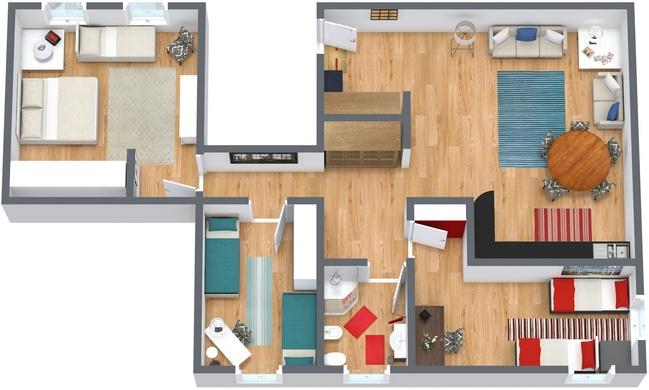 Planimetría Apartamento N.94