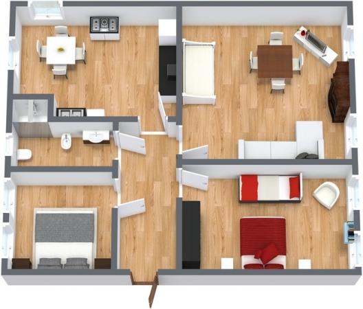 Planimetría Apartamento N.97
